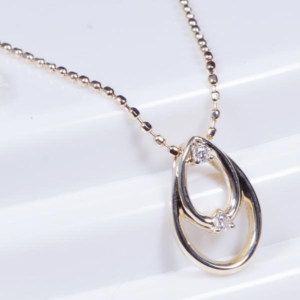 ニューフェイス10金ダイヤペンダントネックレス(188731)