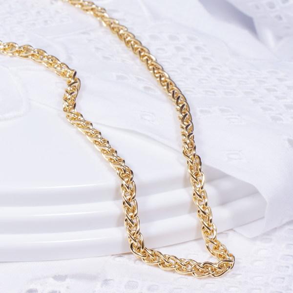 軽くてキラキラ輝くゴージャスなイタリア製デザインネックレス特別奉仕品 18金デザインネックレス フラワー
