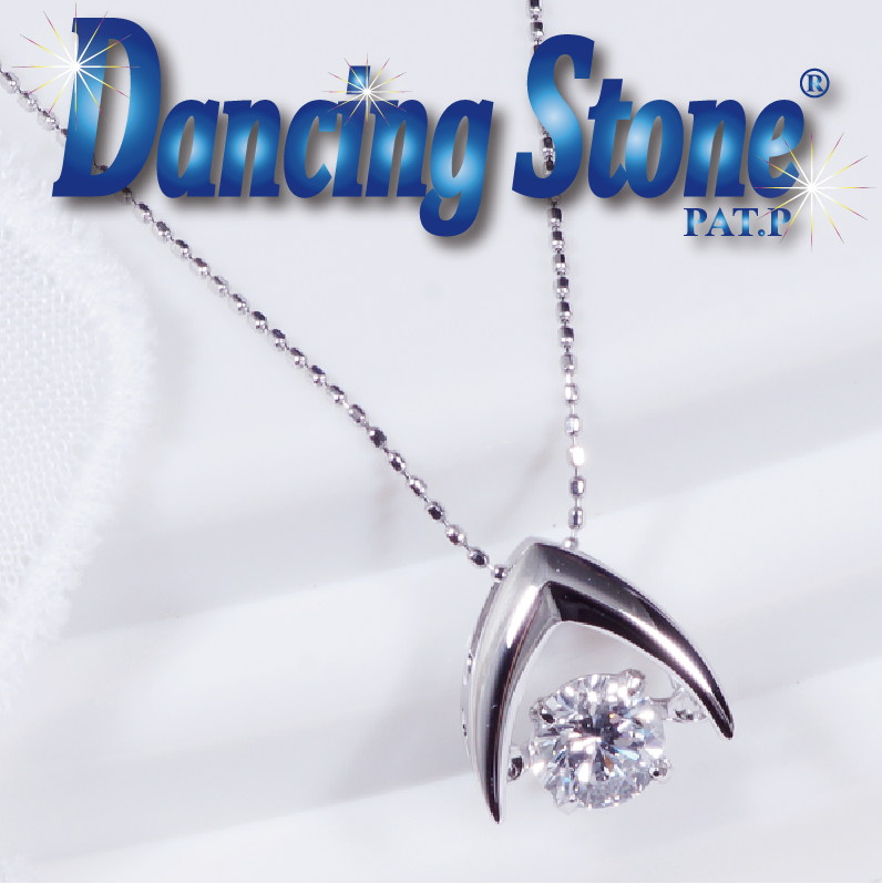 特別奉仕品 Dancing Stone ダンシングストーン プラチナ最高位Dカラーダイヤペンダントネックレス グッドフューチャー SIクラス