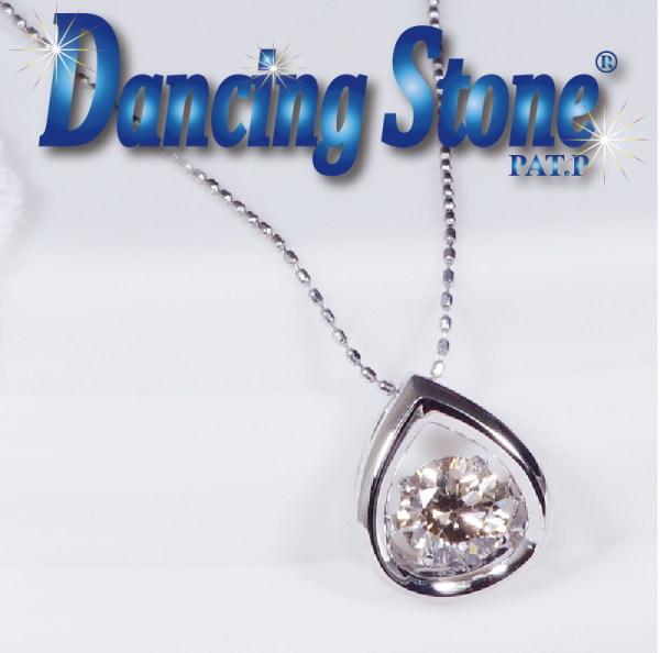 割引発見 特別奉仕品 Dancing Stone ダンシングストーン プラチナ良質SIクラス ダイヤペンダントネックレス ティア 0.3CT45cm フリーアジャスター, 注目 22749450