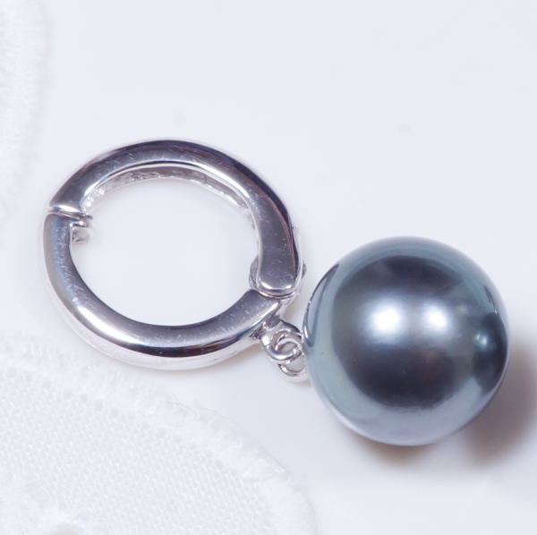 545253312 ... The service product gift appearance is pearl earrings debut 14-karat  gold white gold size ...