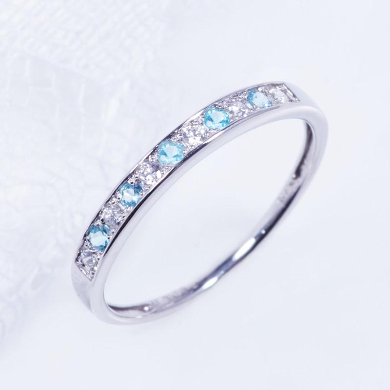 希少宝石 特別奉仕品 プラチナ パライバトルマリン ダイヤ デザインリング RP-7742 一文字
