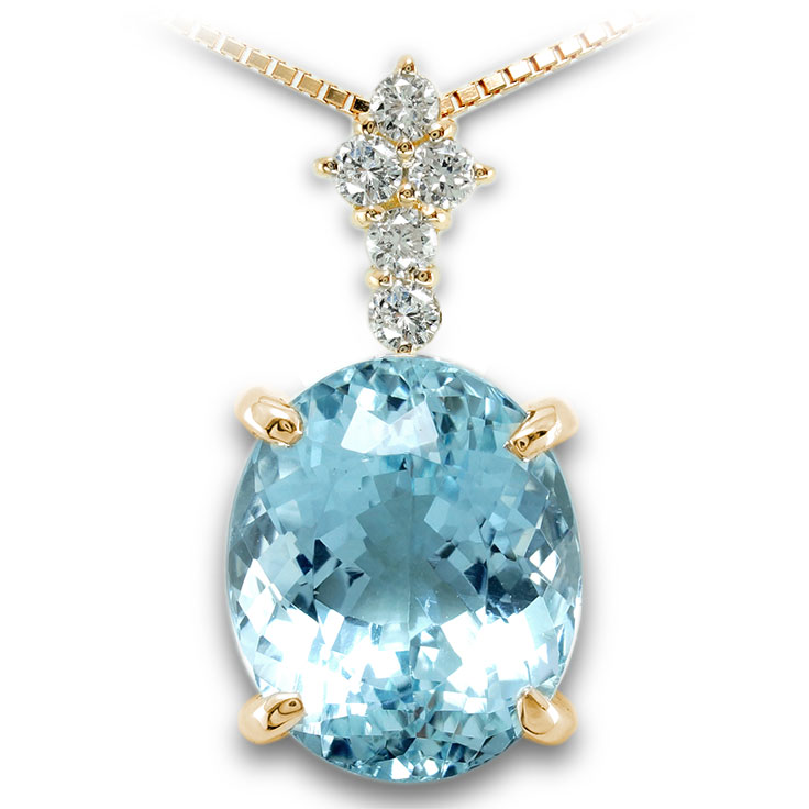【K18ペンダント チャーム 加工】 Lサイズ クロス型バチカン ダイヤモンド 0.17ct SET