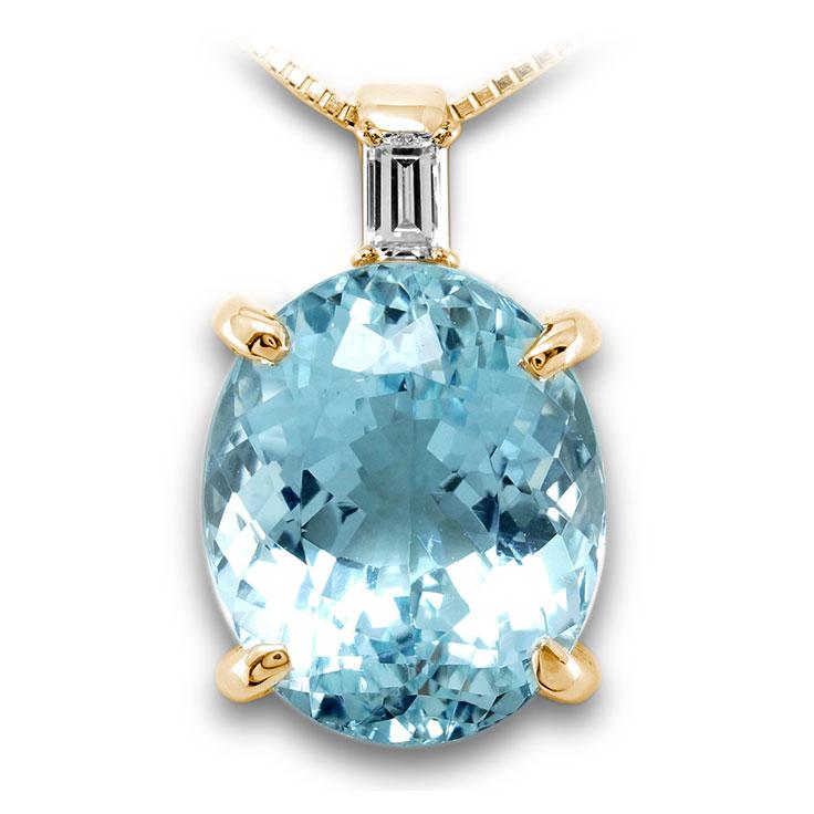 【K18ペンダント チャーム 加工】 LLサイズ バケットダイヤモンド 0.10ct SET