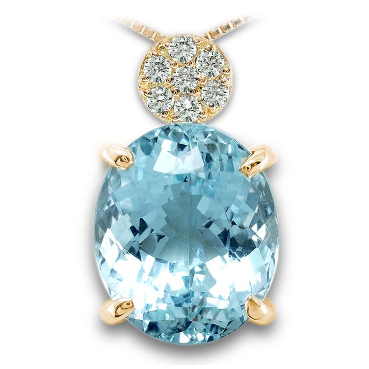 【K18ペンダント チャーム 加工】 LLサイズ O型バチカン ダイヤモンド 0.17ct SET