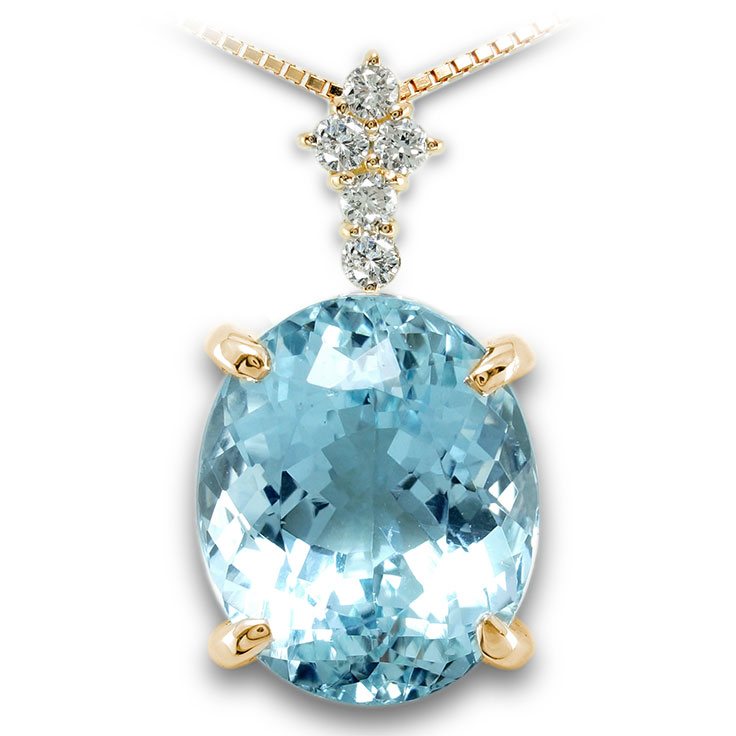 【K18ペンダント チャーム 加工】 LLサイズ クロス型バチカン ダイヤモンド 0.17ct SET