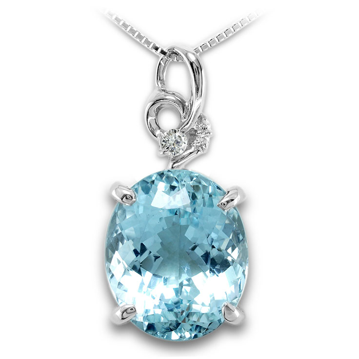 【Pt900ペンダント チャーム 加工】 LLサイズ 変形バチカン ダイヤモンド 0.06ct SET