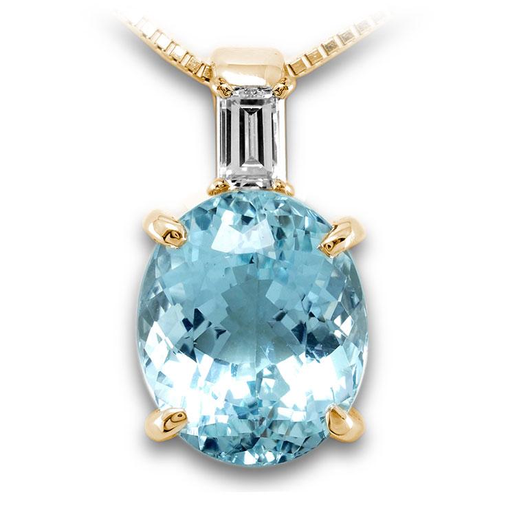【K18ペンダント チャーム 加工】 Mサイズ バケットダイヤモンド 0.10ct SET