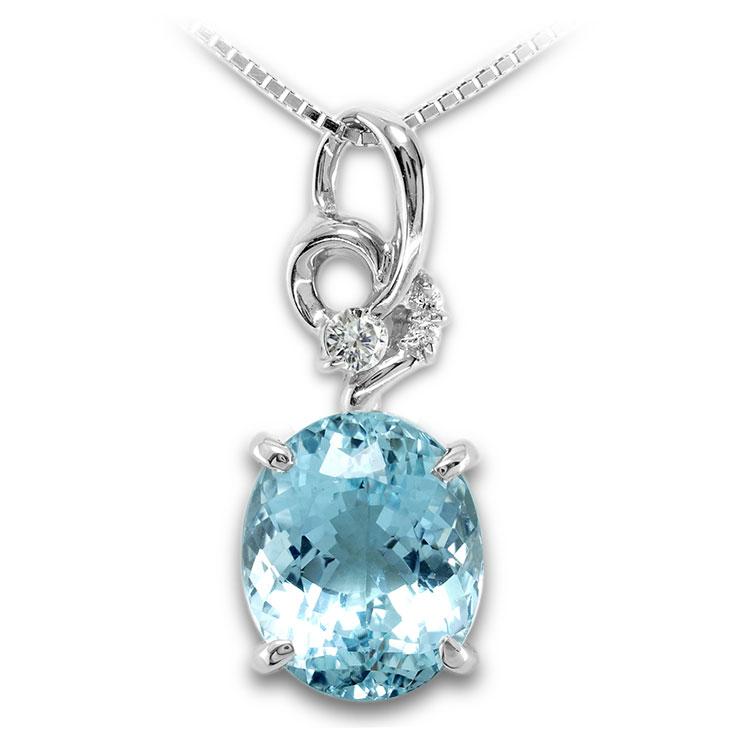 【Pt900ペンダント チャーム 加工】 Mサイズ 変形バチカン ダイヤモンド 0.06ct SET