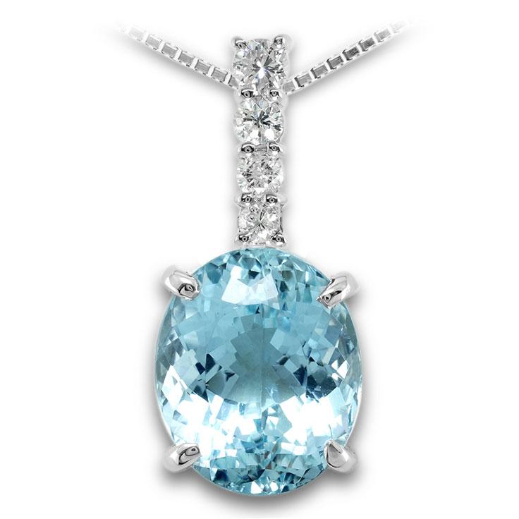【Pt900ペンダント チャーム 加工】 Mサイズ I型バチカン ダイヤモンド 0.17ct SET