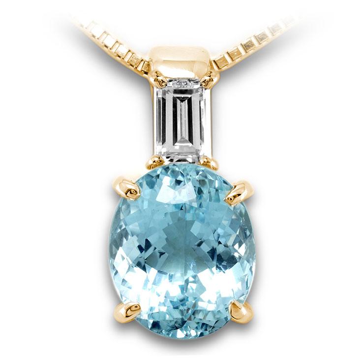 【K18ペンダント チャーム 加工】 Sサイズ バケットダイヤモンド 0.10ct SET