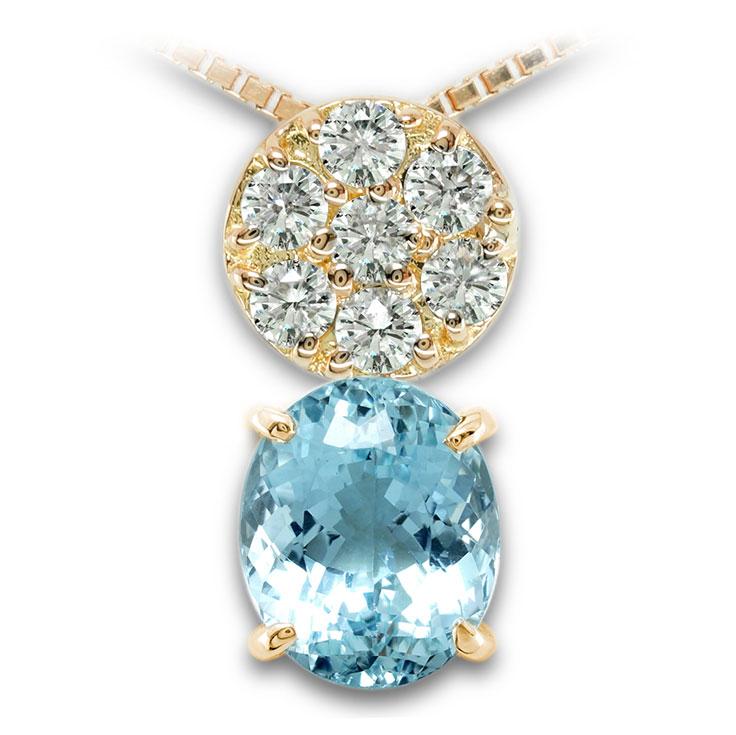 【K18ペンダント チャーム 加工】 Sサイズ O型バチカン ダイヤモンド 0.17ct SET