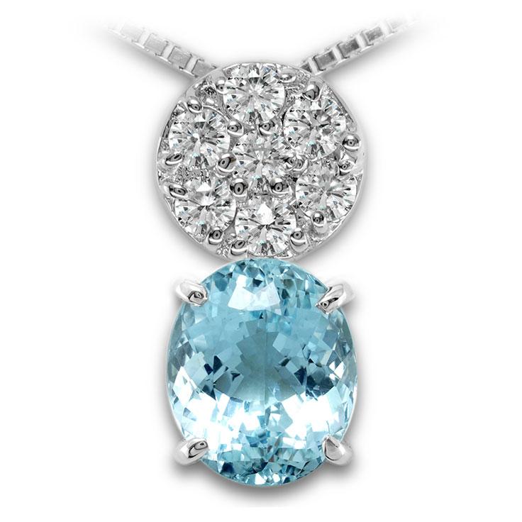 【Pt900ペンダント チャーム 加工】 Sサイズ O型バチカン ダイヤモンド 0.17ct SET