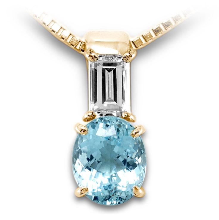 【K18ペンダント チャーム 加工】 SSサイズ バケットダイヤモンド 0.10ct SET