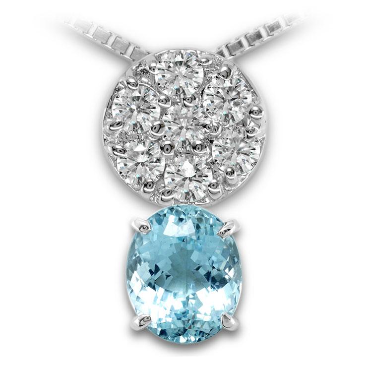 【Pt900ペンダント チャーム 加工】 SSサイズ O型バチカン ダイヤモンド 0.17ct SET