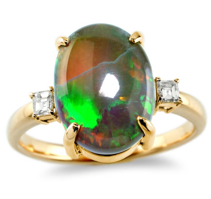 【K18リング 指輪 加工】 LLサイズ バケットダイヤモンド 0.05ct×2
