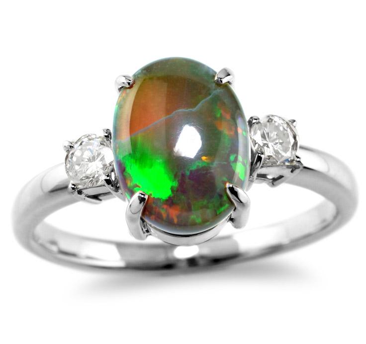 【Pt900リング 指輪 加工】 Mサイズ ラウンドダイヤモンド 0.10ct×2