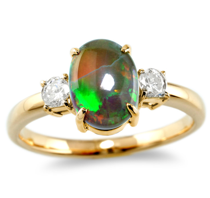 【K18リング 指輪 加工】 Sサイズ ラウンドダイヤモンド 0.10ct×2