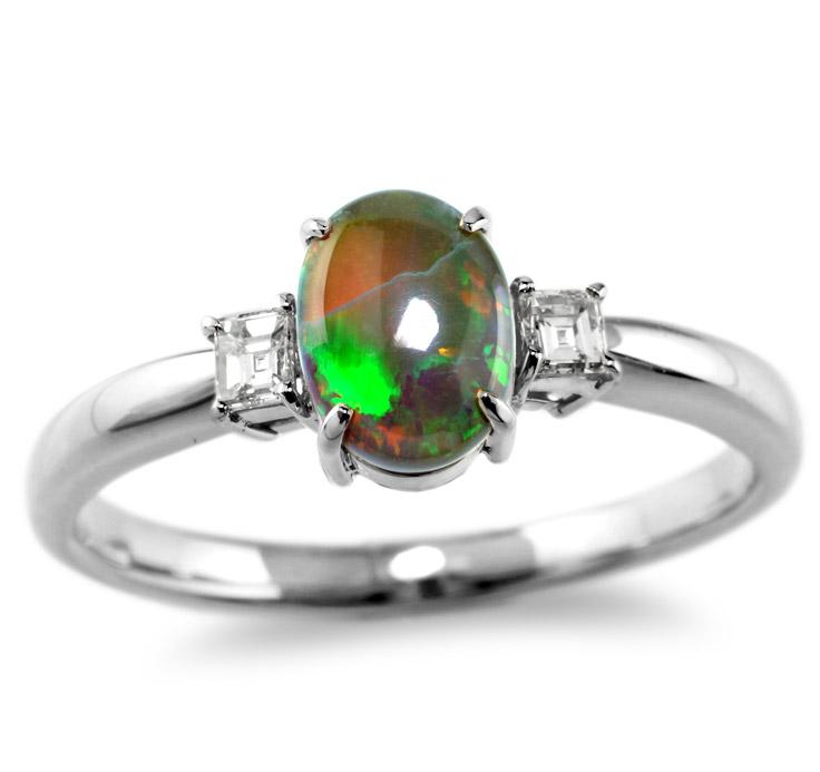 【Pt900リング 指輪 加工】 SSサイズ バケットダイヤモンド 0.05ct×2