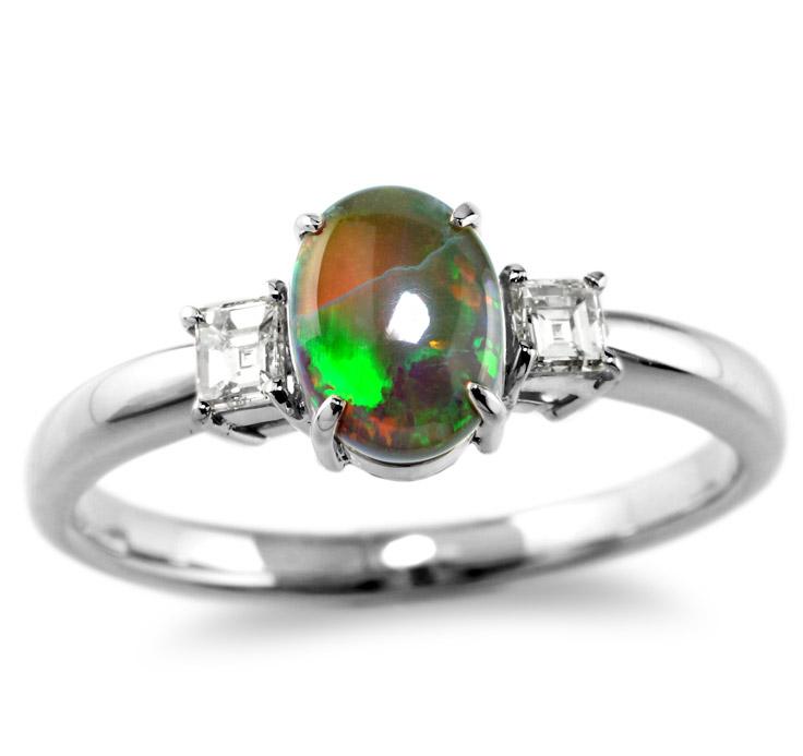 【Pt900リング 指輪 加工】 SSサイズ バケットダイヤモンド 0.10ct×2