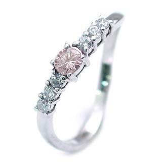ピンクダイヤモンドリング【DEAL】