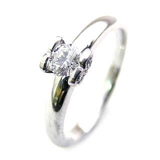 ( K18WG )ダイヤモンドリング 【DEAL】