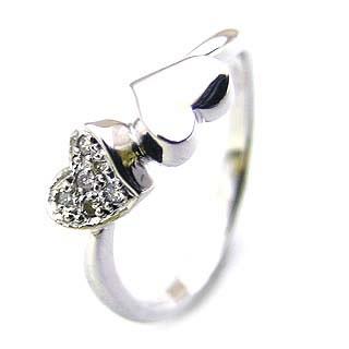 ( K18WG ) ダイヤモンドリング【DEAL】