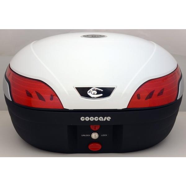 COOCASE(クーケース) S48 Astra(アストラ) BASIC CN40110 パールホワイト テールボックス トップケース 48L リアボックス