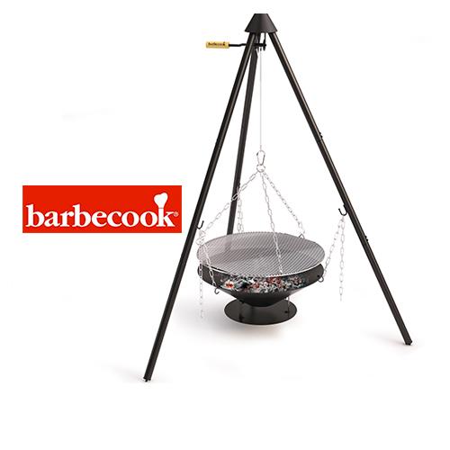barbecook 223.9670.000 JUNKO バーベクック ジュンコ (トライポット・グリル・ファイヤーピットのセット)【正規品】【送料無料】