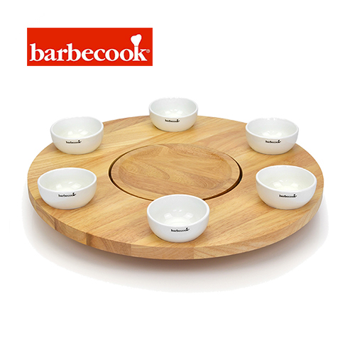 barbecook 223.1400.400 バーベクック 回転テーブル ジョヤ専用(6カップ付き)barbecook ROTATING TABLE WITH 6CUPS【正規品】【あす楽対応】