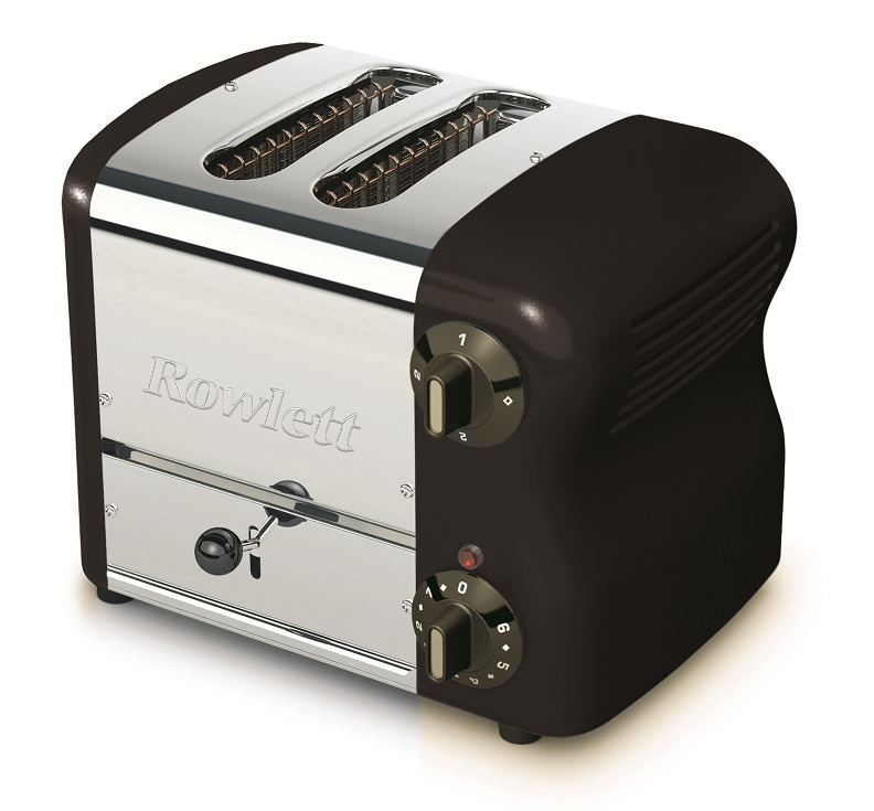 Rowlett Rutland ローレット社 2WTB-491E エスプリコレクション ローレット トースター ブラックポップアップトースター 2WTB-491E
