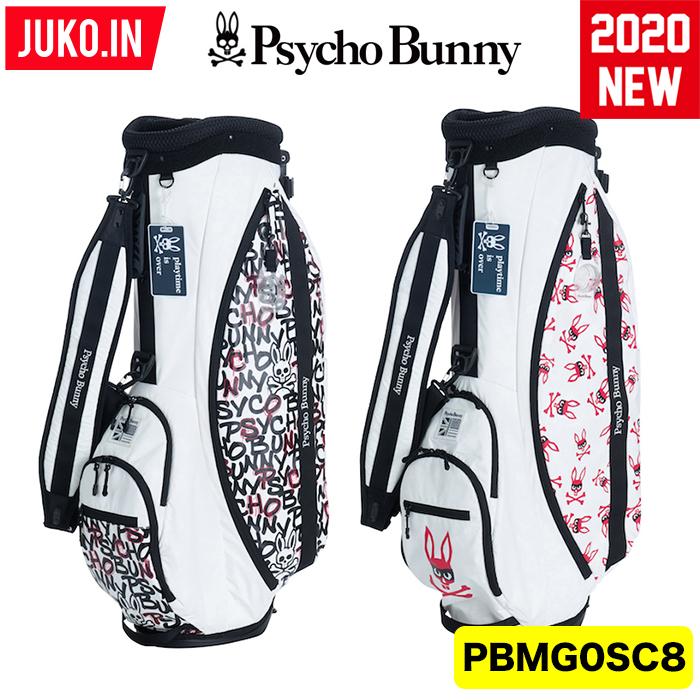 【予約受付!クーポン有】PBMG0SC8 超限定モデル サイコバニー ミスチーフ スタンドキャディバッグ Psycho Bunny  GOLF  日本正規品 JUKO.IN GOLF グルッペ