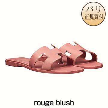 新品 HERMES サンダル 【2019年春夏コレクション】 ORAN オラン rouge blush [フランス・ファッション・シューズ]