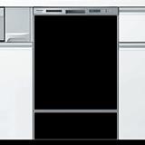 ジャストリフォームオリジナルドアパネルブラック(光沢あり)※食器洗い乾燥機本体をご購入のお客様のみの販売となります, 用宗のところてん:8156bc51 --- insidedna.ai