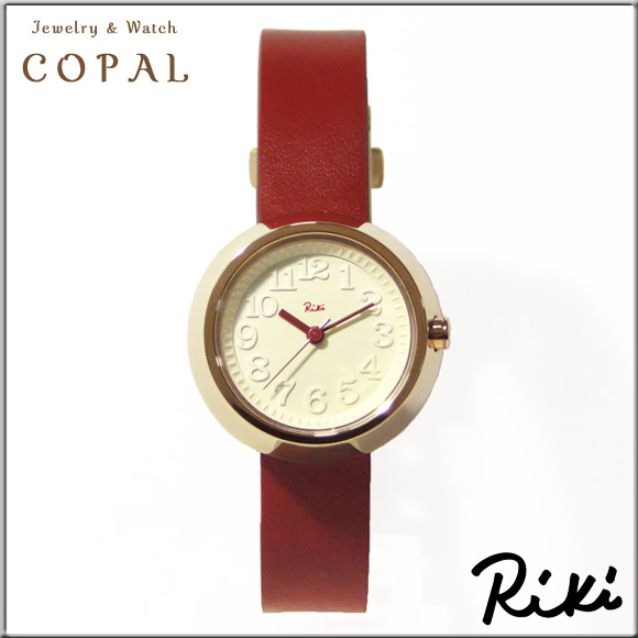 Riki(リキ)腕時計(レッド・革バンド)akqk427 セイコー アルバ SEIKOALBA SEIKO ALBA 腕時計 セイコー アルバ 時計 リキ ワタナベ コレクション RIKI WATANABE COLLECTION レディース 正規品
