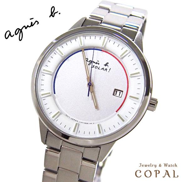 アニエスベー 時計 agnesb FBRD953 国内正規品 メンズ ソーラー 腕時計 時計 誕生日 記念日 プレゼント ペアウォッチ にもオススメ