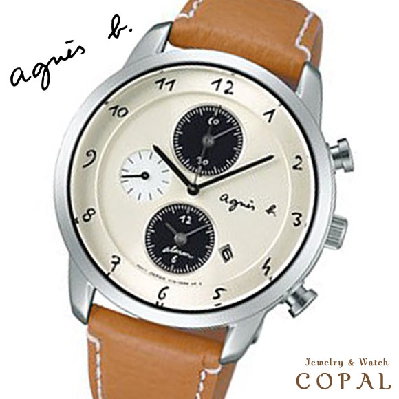 アニエスベー 時計 マルチェロ ソーラー FBRD973 メンズ ペア ブラウン agnes b. アニエス 腕時計 誕生日プレゼント 記念日 プレゼント