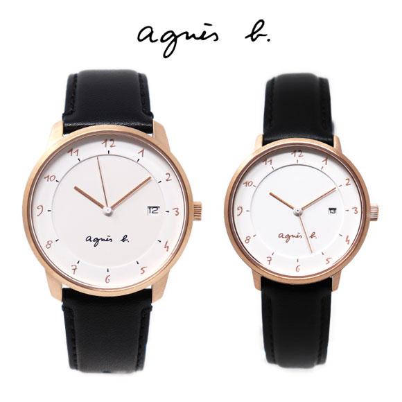 アニエスベー 時計 ペアウォッチ FBRK998 FBSK946 ペア マルチェロ ホワイト ブラック メンズ レディース アニエス 腕時計 クオーツ 誕生日プレゼント 記念日 プレゼント
