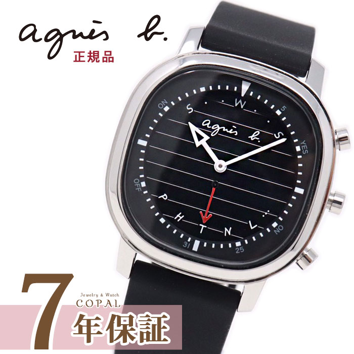 アニエスベー 時計 メンズ レディース fcrb402 agnes b. アニエス ブラック ブラック 腕時計 誕生日プレゼント 記念日 Bluetooth
