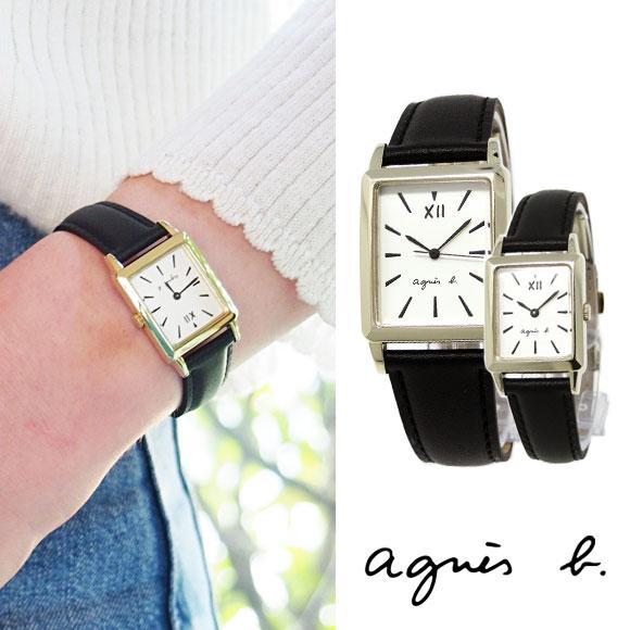 アニエスベー 時計レディース マルチェロ トノー FCRK992 FCSK937 ペアウォッチ ブラック agnes b アニエス 腕時計 誕生日 記念日 プレゼント