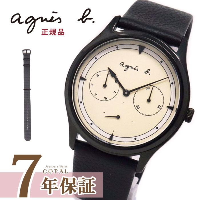 アニエスベー 時計 メンズ fcrt959 agnes b. ペア アニエス アイボリー ブラック グレー 時計 誕生日プレゼント 記念日 【5月27日発売】