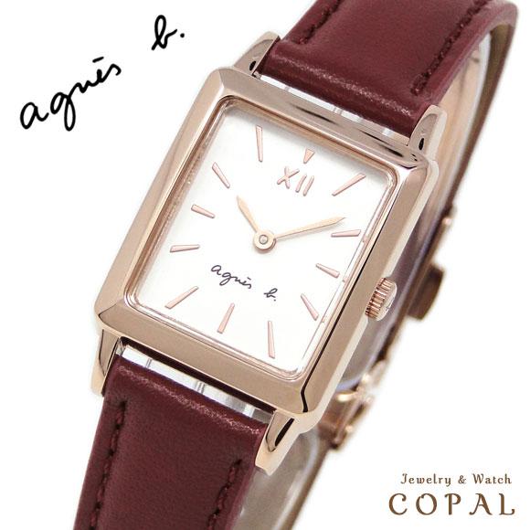 アニエスベー 時計 FCSK936 agnes b. レッド トノー アニエス 腕時計 誕生日プレゼント 記念日 プレゼント