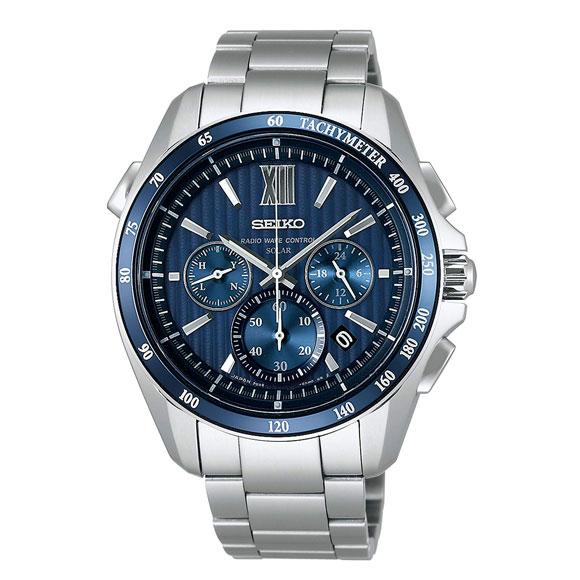 SEIKO セイコー BRIGHTZ ブライツ メンズ 腕時計 SAGA151 ソーラー 電波 サファイアガラス スーパークリア コーティング 日常生活用強化防水