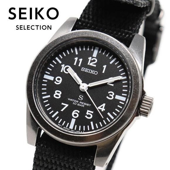 セイコーセレクション SEIKO SELECTION SUS デザイン復刻モデル 流通限定モデル 腕時計 メンズ レディース ユニセックス nano・universe SCXP159
