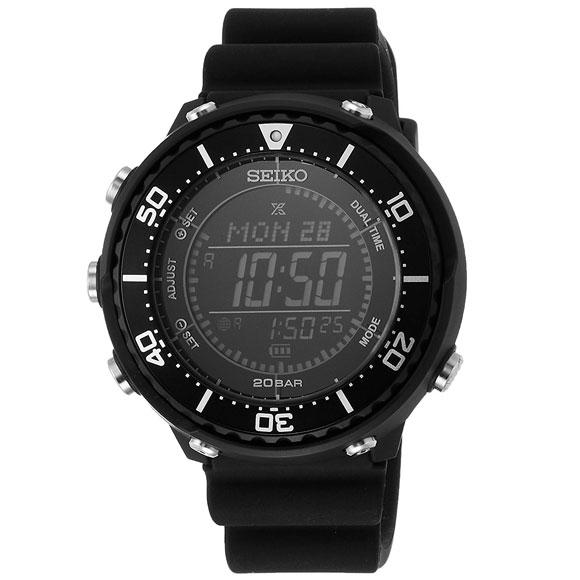 【時計クロス付き】セイコー プロスペックス 腕時計 PROSPEX LOWERCASEプロデュース フィールドマスター ソーラー デジタル SBEP001 メンズ【送料無料】