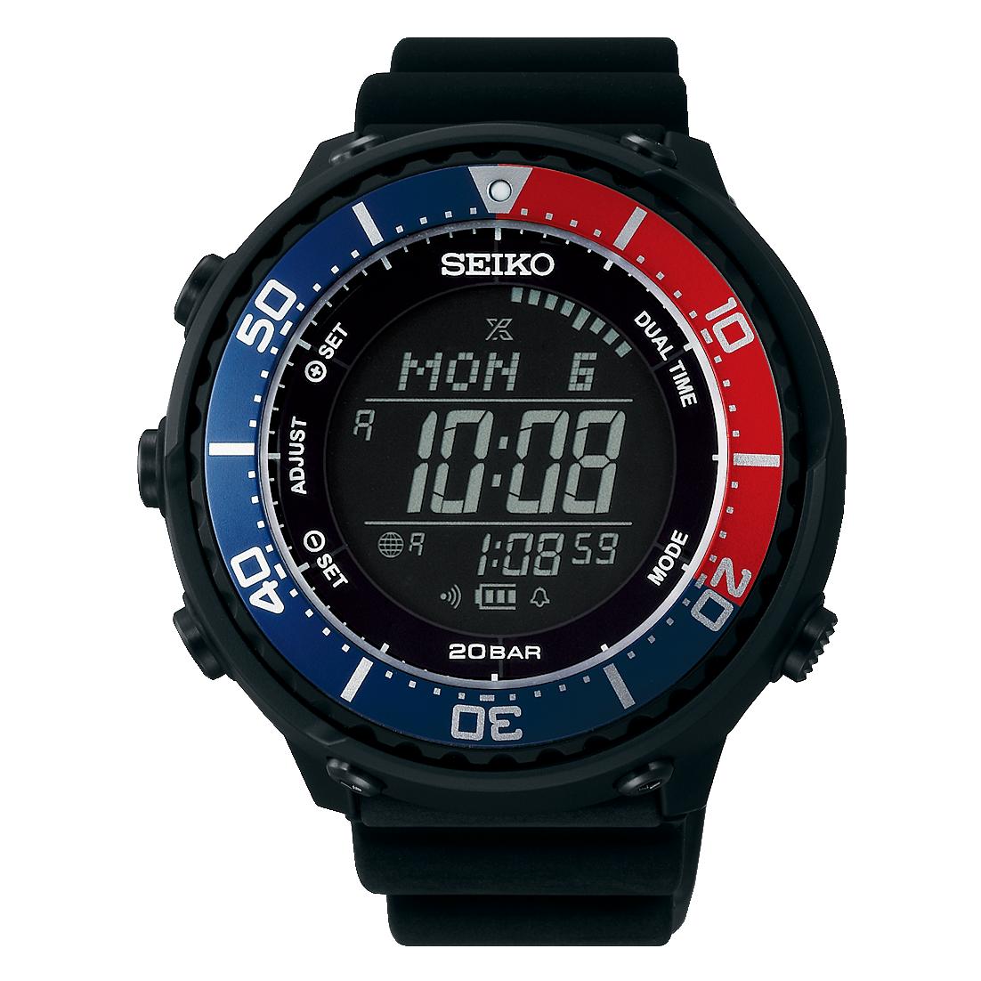 【時計クロス付き】セイコー プロスペックス 腕時計 PROSPEX LOWERCASEプロデュース フィールドマスター ソーラー デジタル SBEP003 メンズ【送料無料】