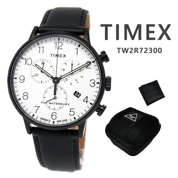 【大人気の腕時計ケース付き】 タイメックス TIMEX 腕時計 TW2R72300 ウォ-ターベリー クラシック クロノグラフ ユニセックス 時計