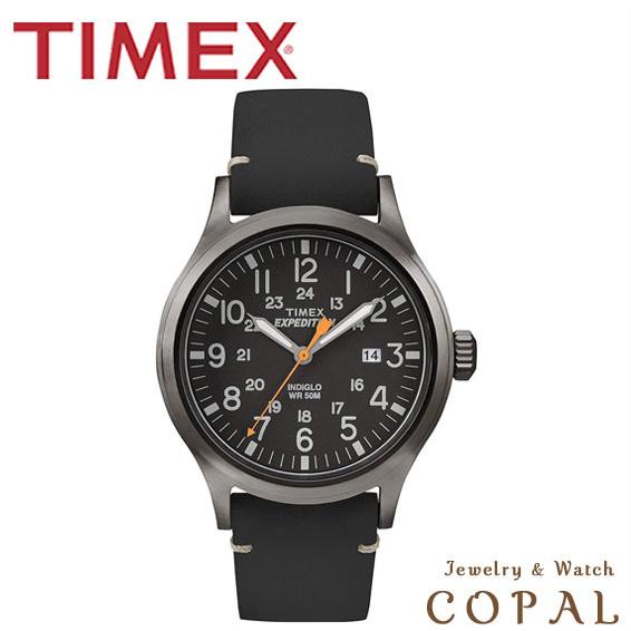 タイメックス TIMEX 腕時計 TW4B01900 エクスペディション スカウト レザーベルト ブラック メンズ 正規輸入品