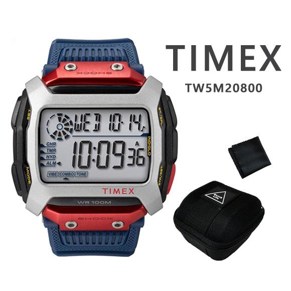 タイメックス TIMEX TW5M20800 コマンド レッドブル クリフダイビング 国内限定500個モデル COMMAND Red Bull Cliff Diving デジタル 【国内正規品】【人気商品】