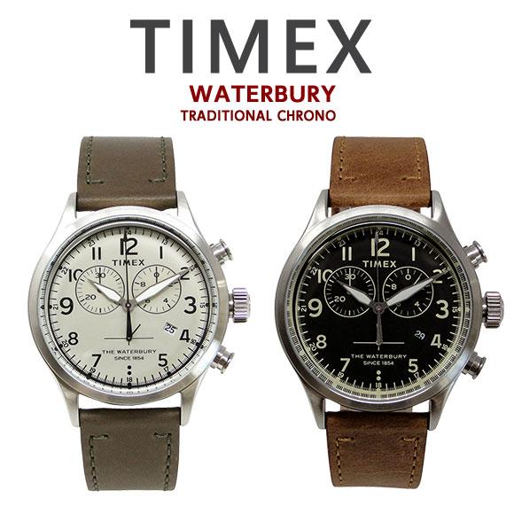 タイメックス TIMEX 腕時計 ウォ-ターベリー トラディショナル クロノ TW2R70800 TW2R70900 時計